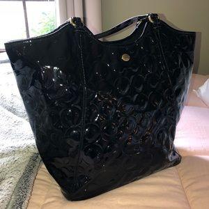 authentic coach shoulder bag